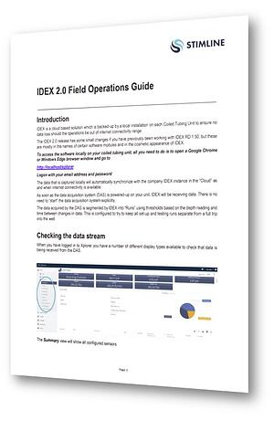 IDEX Field Operations Guide