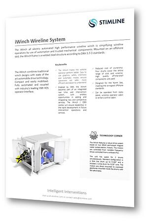 iWinch Wireline System_Skid