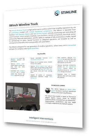 iWinch Wireline Truck System